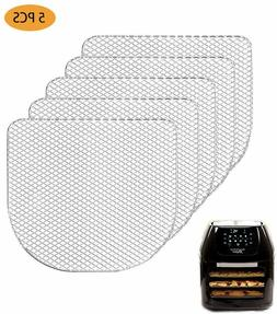 5Pcs Dehydrator Racks Compatible for Power Air Fryer Oven,Ch