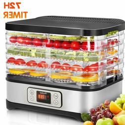 5Tiers Trays Electric Food Dehydrator Machine Fruit Dryer Be