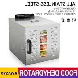 6 10 tray food dehydrator machine w