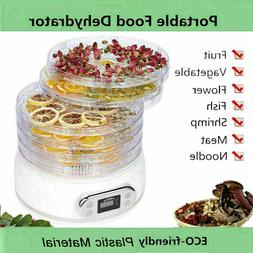 6 Tier Food Dehydrator Machine Meat Beef Jerky Maker Fruit P