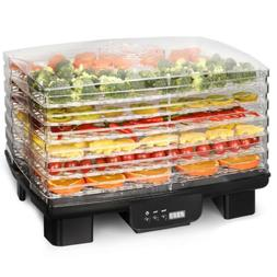 Kitchen DIY 6-Tier 550 W Food Fruits Dehydrator Dryer Adjust