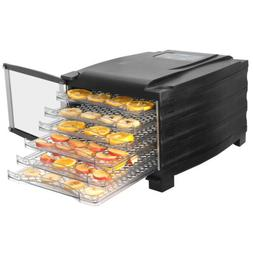 6 Tray Food Dehydrator Fruit Vegetable Dryer Jerky Preserver