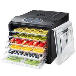 Ivation 6 Tray Countertop Digital Food Dehydrator Drying Mac