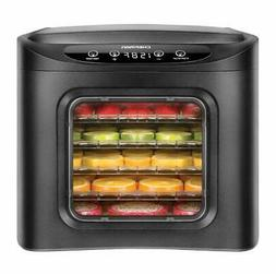 CHEFMAN - 6-Tray Digital Food Dehydrator - Black
