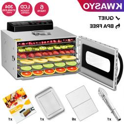 KWASYO Pro Food Dehydrator with 6 Drying Racks