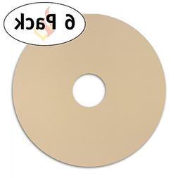 Homey 6-Pack Round Flexible Reusable Non Stick Teflon Food D