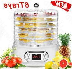 6Tier Food Dehydrator Machine Meat Beef Jerky Maker Fruit Pr