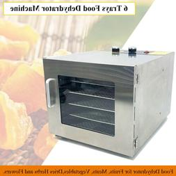 6Tray Food Dehydrator Professional Commercial for Fruits Dri