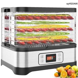 8 Tier Electric Food Dehydrator Machine Fruit Dryer Beef Jer