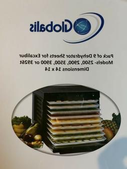 Globalis Food Dehydrator Sheets 14 x 14 -Excalibur 2500 290