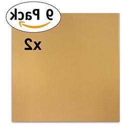 "2 Pack of 9 Premium 14"" x 14"" Non-Stick Dehydrator Sheets- F"