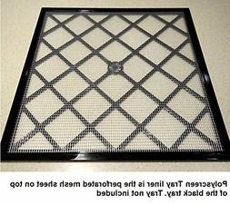 "Excalibur 14"" x 14"" Polyscreen Mesh Tray Screen Inserts for"
