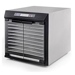 Excalibur Dehydrator EXC10EL 10-Tray Glass Doors, Stainless