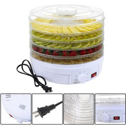 Giantex 5 Tray Electric Food Dehydrator Fruit Vegetable Drye