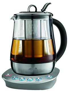 Mr. Coffee BVMC-HTKSS200 Hot Tea Maker and Kettle, Stainless