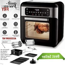 All in One Digital Air Fryer Oven with Dehydrator & Rotisser