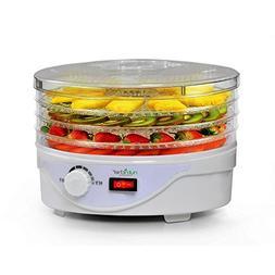 NutriChef AZPKFD08 Electric Countertop Food Dehydrator, 13 x