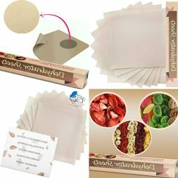 Baking Mat Teflon Dehydrator Sheet - Set Of 9 Premium 14'' X