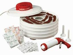 Beef Jerky Dehydrator Gun Food Maker Accessories Machine Raw