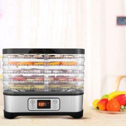 Beef Jerky Electric Food Dehydrator Machine Kit Fruit Maker