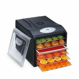 BioChef Arizona Sol Food Dehydrator with 6 stainless steel t