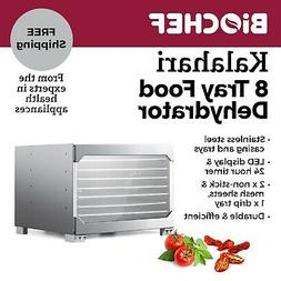 BioChef Kalahari 8 Tray Food Dehydrator Stainless Steel Best