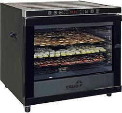 Chard 80-Liter Commercial Dehydrator in Stainless Steel/Blac