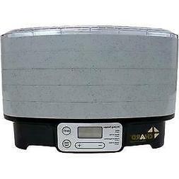 Chard DD-5S 5-Tray Digital Food Dehydrator - Gray