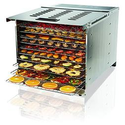 Proctor Silex Commercial 78450 Food Dehydrator, 10 Trays, 12