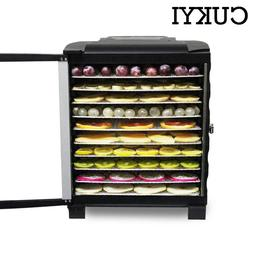 CUKYI Commercial Electric Dried Fruit <font><b>Dehydrator</b