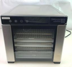 Magic Mill Commercial Food Dehydrator Machine 7 Stainless St