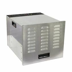 Commercial Food Dehydrator Stainless Steel 10 Tray BioChef -