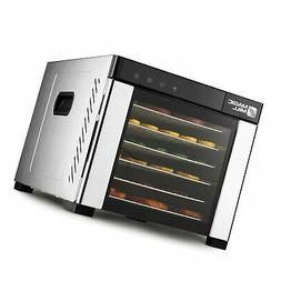 Magic Mill Commercial pro Xl Stainless Steel 6 Tray Food and