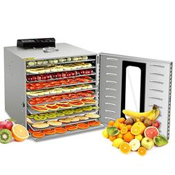 Commercial Stainless Steel Food Dehydrator -Raw Food & Jerky