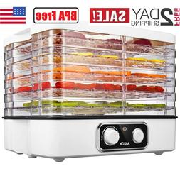 Dehydrator, 5-Tray Food Dehydrator, Temperature 95-158ºF, B