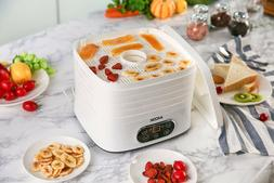 Aicok Dehydrator food 5 Trays with Timer up to 72h 35-2.5oz