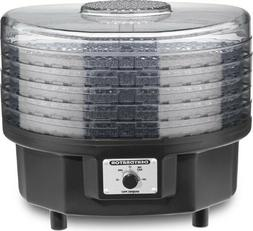 Dehydrator: Waring Food Drier 5-Tray Snack Maker DHR30 Black