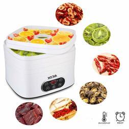 Aicok Dehydrator of Food, 250W Timer Dehydrator of Fruits