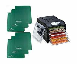 "Samson ""Silent"" Dehydrator PACKAGE WITH 6 qty Non Stick Sili"