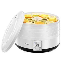 Dehydrator Aicook, Quiet Professional Food Dehydrator with 5