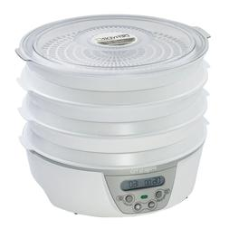 Dehydro 6 Tray White Digital Electric Food Dehydrator With D