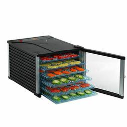 Deluxe Food Dehydrator 6 Tray 630W Electric Blower Jerky Fru