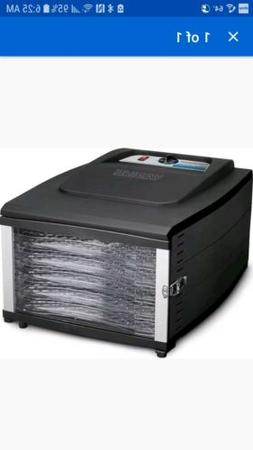Waring DHR50 6 Tray Food Dehydrator, Black