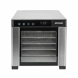 electriQ Digital Food Dehydrator & Dryer with 6 Shelves and