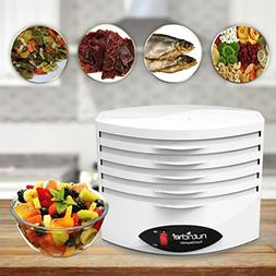 Electric Countertop Food Dehydrator Machine - 5-Tray Profess