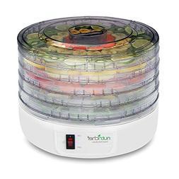 NutriChef Electric Countertop Food Dehydrator - Multi-Tier H