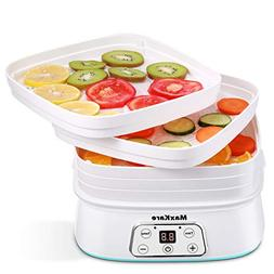 MaxKare Electric Food Dehydrator, Digital Multi-Tier Food Pr