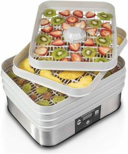 Electric Food Dehydrator Digital Thermostat 48 Hour Timer 5