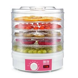 Electric Food Dehydrator Machine 5 Trays Fruit Veg Meat Snac