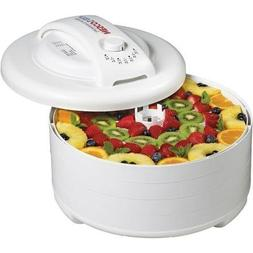 Express Food Dehydrator and Jerky Maker, White